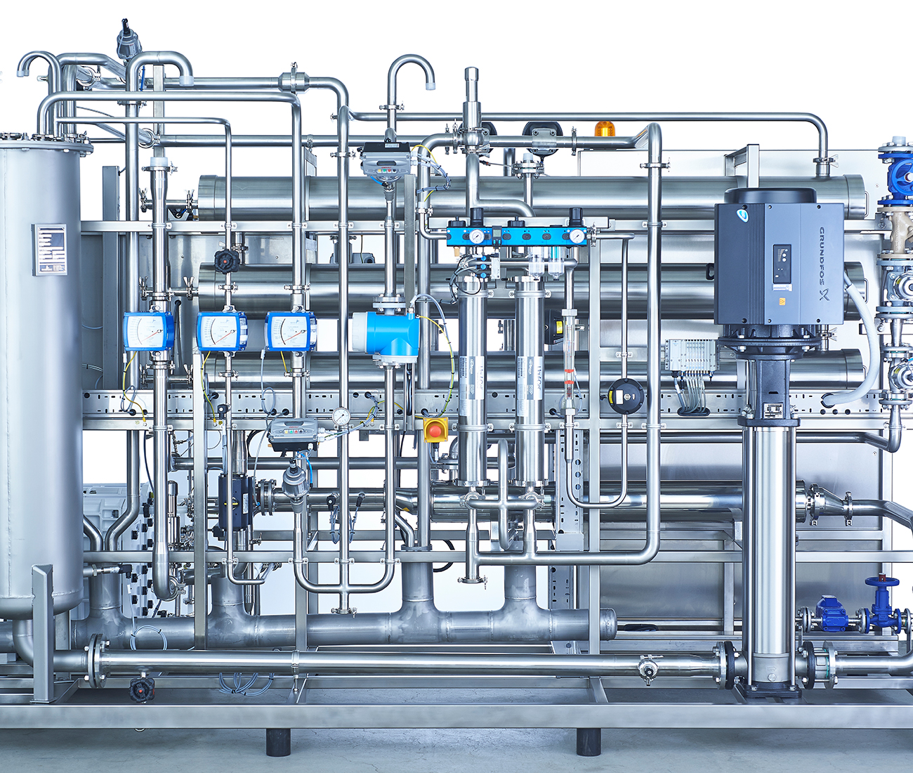 Pharmaceutical sector requires very high purity water