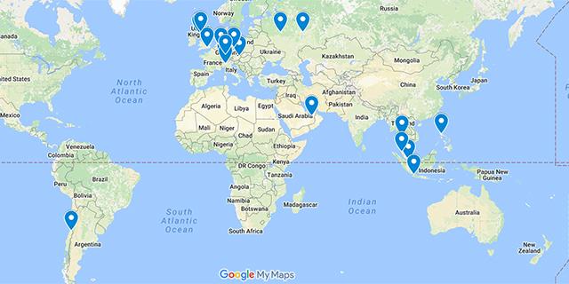 Locations H+E