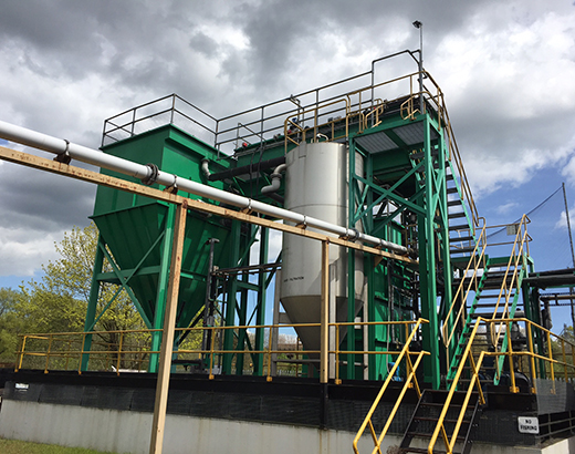 Treatment of effluent from metal finishing
