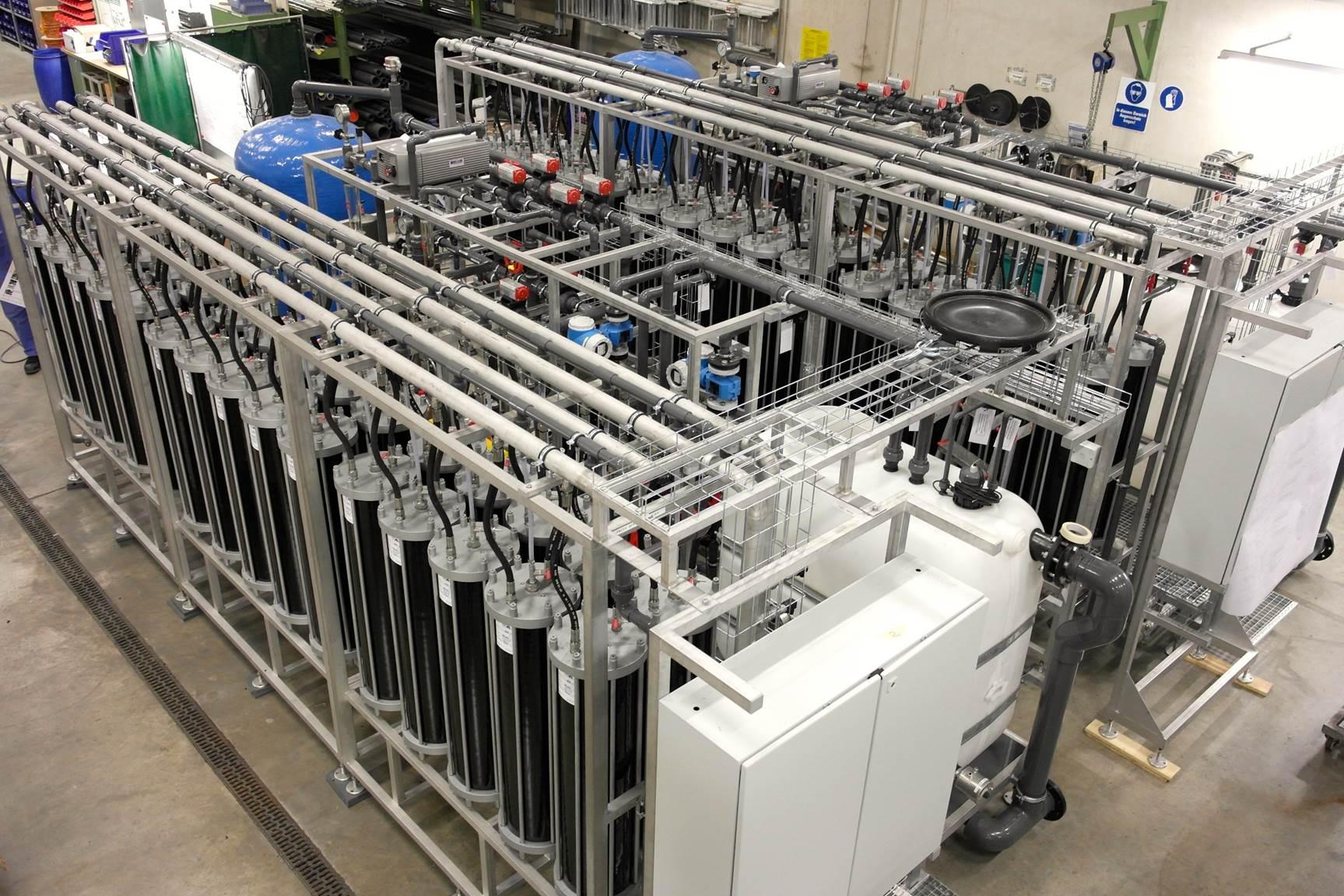 CD Modules for economic Zero-Liquid-Discharge plant