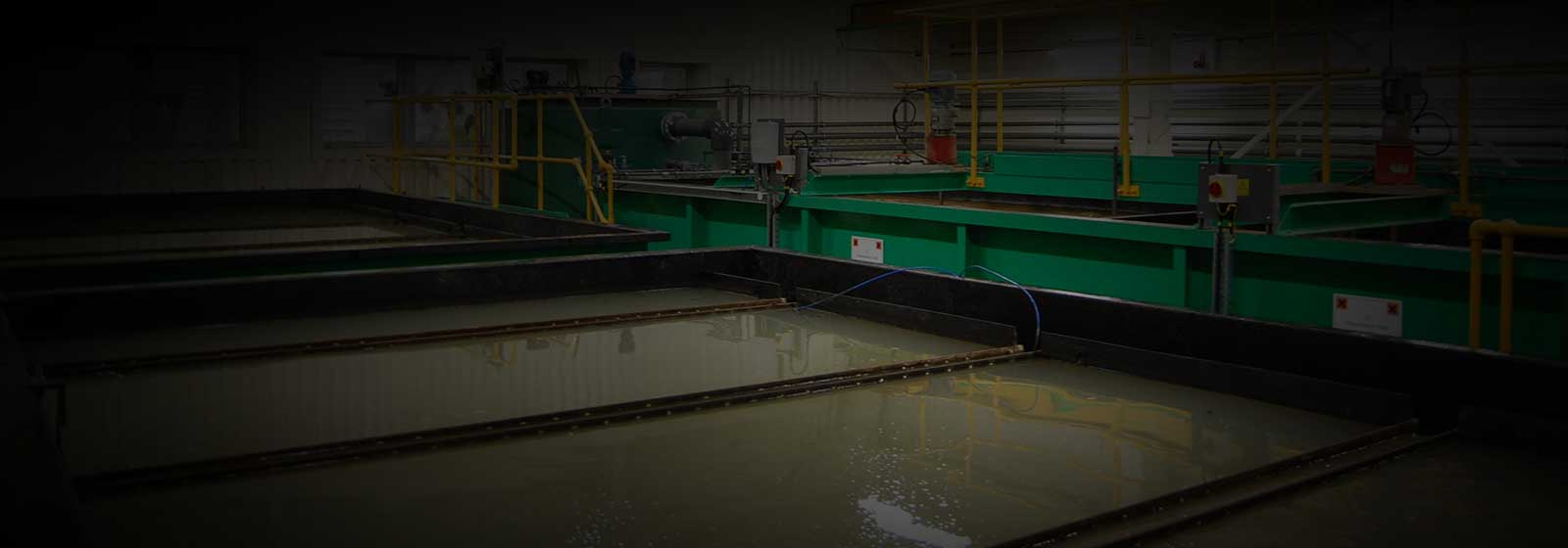 Clarifiers & chemical treatment tanks