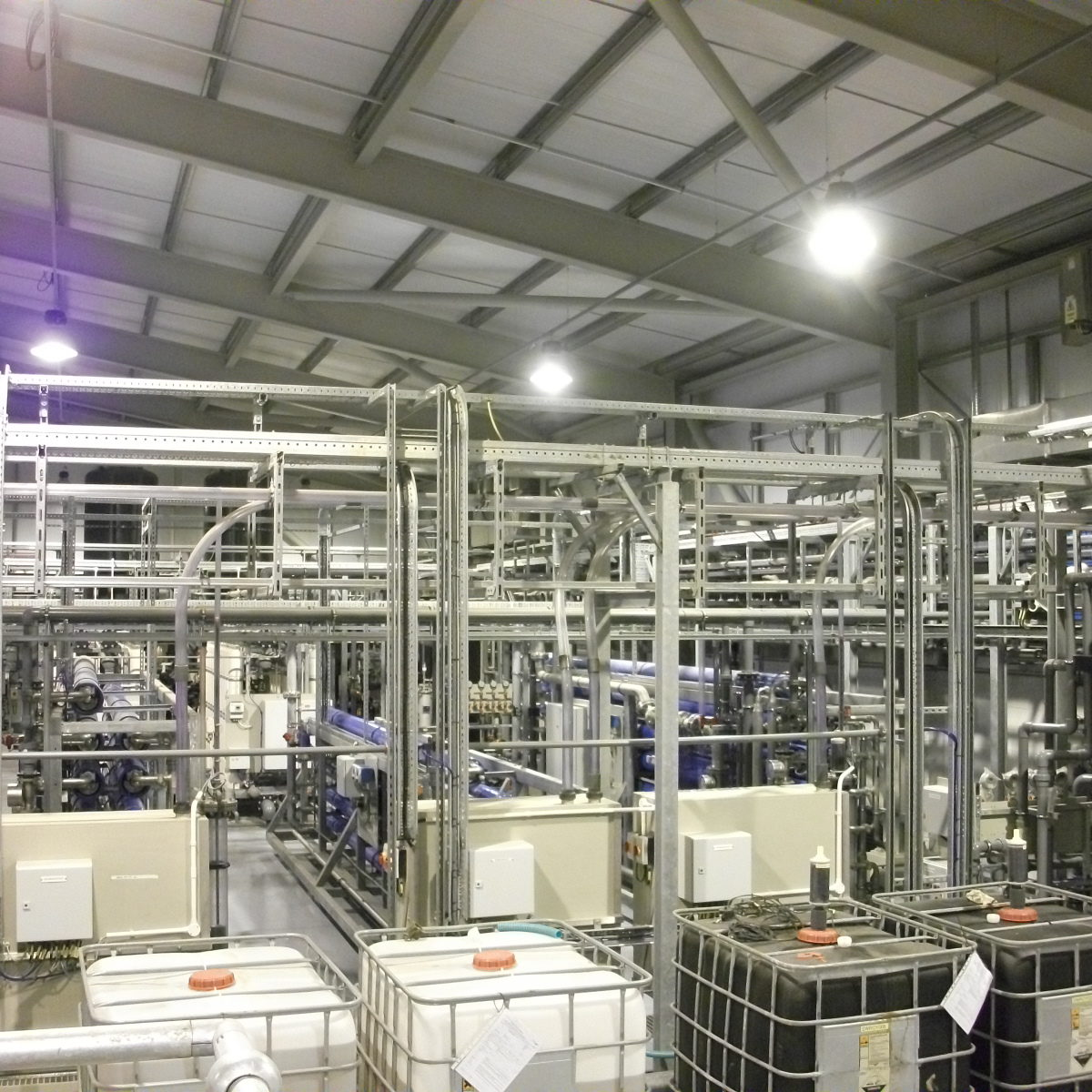 Reverse Osmosis section of plant serving a UK power station