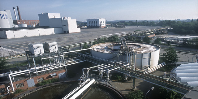 A major Treatment Plant for treatment of sugar wastewater